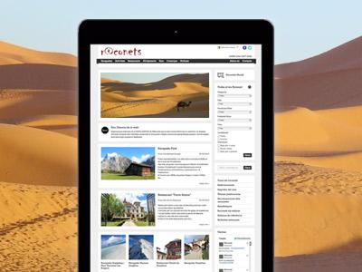 Blog informació oci menjar viatjes buscador per afinar la cerca Wordpress